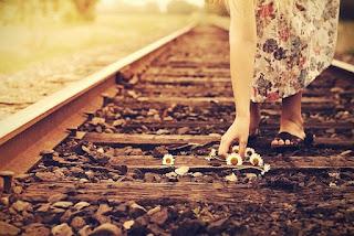 trilho e trem