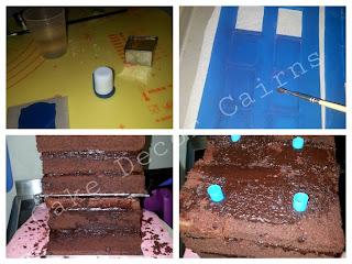 Whovian cake