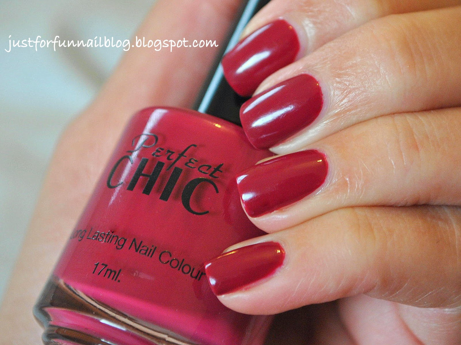 Perfect Chic 477 - Sweet Cheeks: Swatch & Review