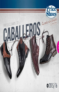 Catalogo Digital Price shoes caballeros 2015 2016
