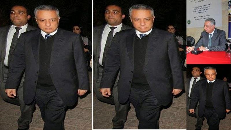 دكتور محمود ابو النصر فى  مؤتمر وزراء التعليم العرب فى شرم الشيخ