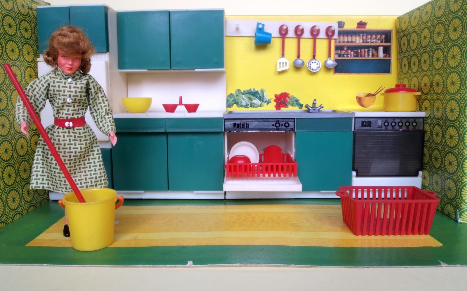diePuppenstubensammlerin Doppelzimmer  1973 Modella  ~ Geschirrspülmaschine Probleme