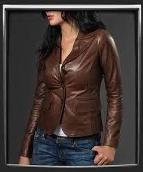 Model Jaket Kulit Wanita Yang Elegan