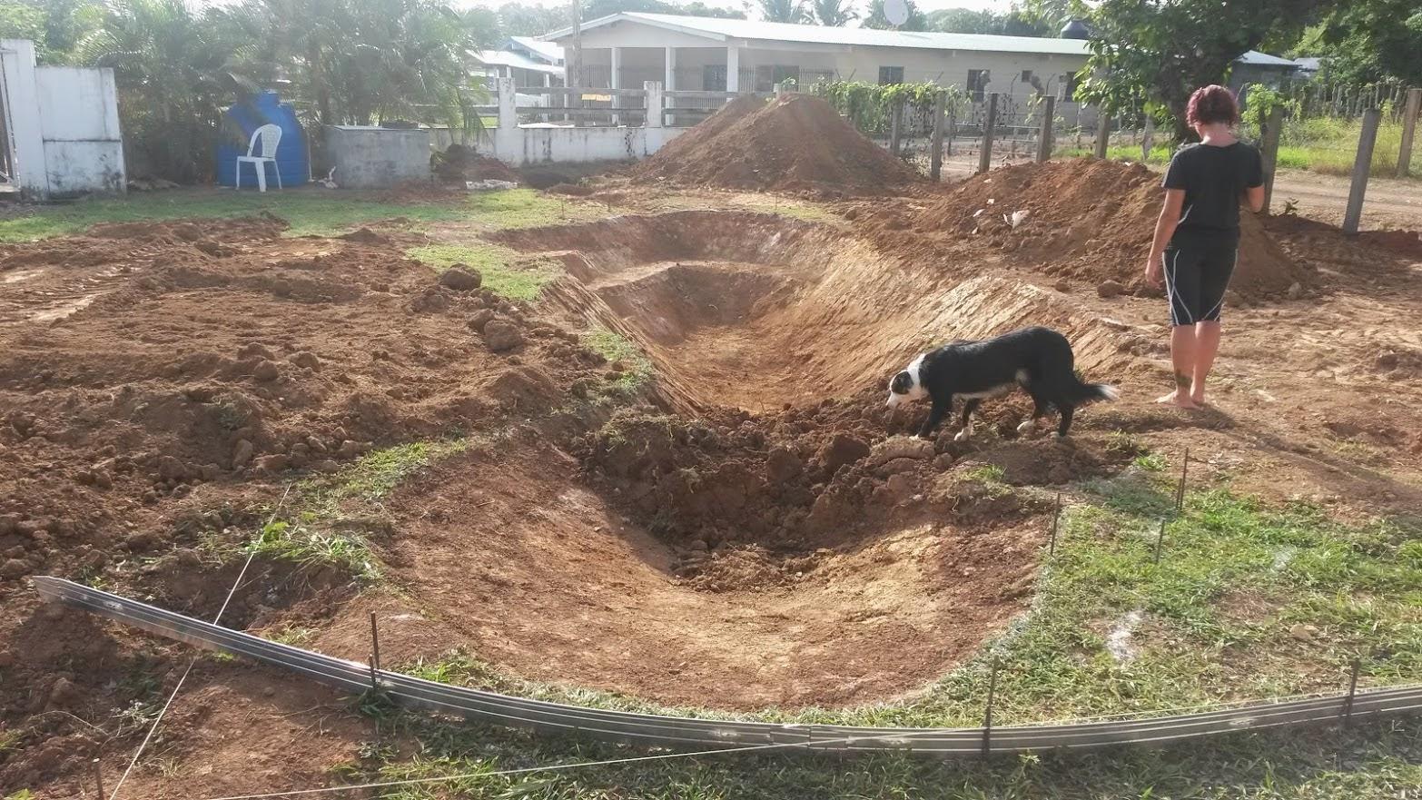 Andiamo a panama costruzione piscina - Costo scavo per piscina interrata ...