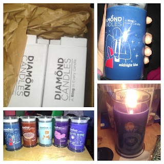 heard of these awesome candles these are diamond candles i bought them