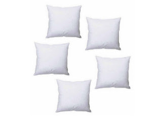 Pepperfry : Buy 5 Set of Cushion Fillers from JBG Home Store  And Get flat 62% off