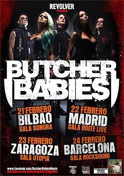 Conciertos de Butcher Babies