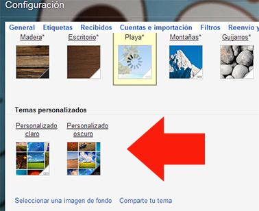 fondo de pantalla personalizado