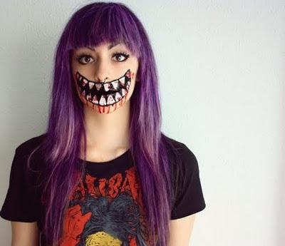 Belladonna Make-Up: HALLOWEEN!
