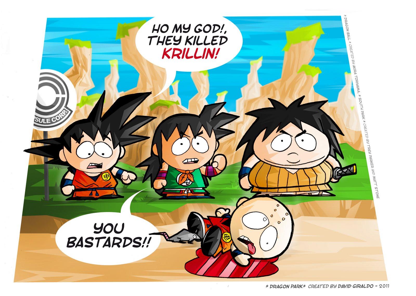 ils ont tué Krillin Dragon Park
