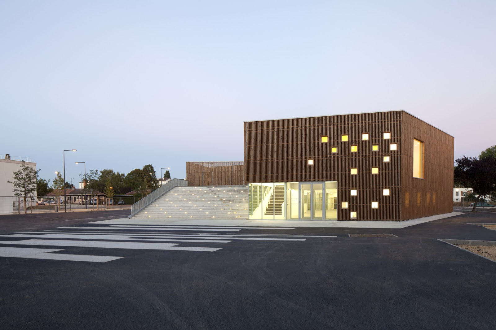 Cultural Center By Ateliers O S Architectes