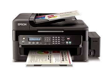 epson l555 setup