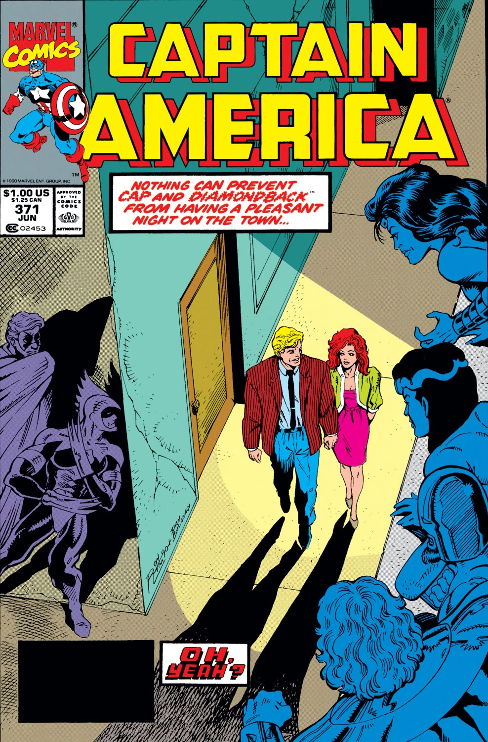 Captain America (1968) Issue #371 #304 - English 1