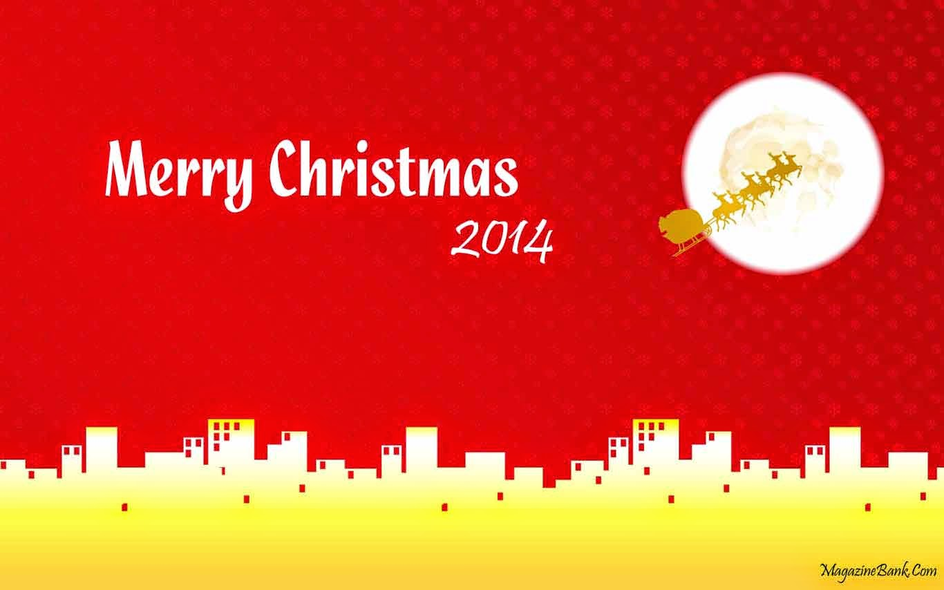Happy Merry Christmas HD Wallpapers 2014