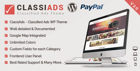 wordpress classified ads design