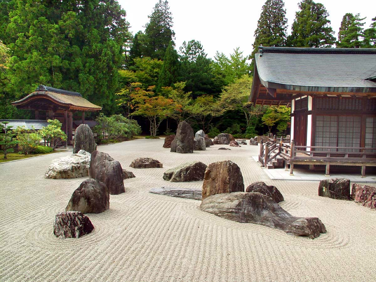 Zen rock garden wallpaper - Thoughts