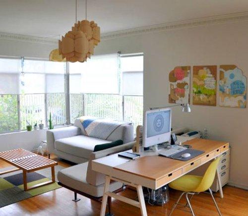 Home Office Designs Living Room Decorating Ideas: Multinotas: Decoración, Oficina En Casa