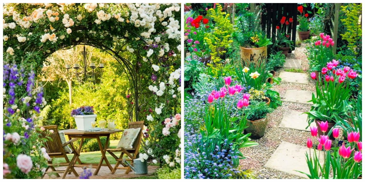 Dise a tu vida que jardin te gustar a tener 1 - Casas con jardines bonitos ...