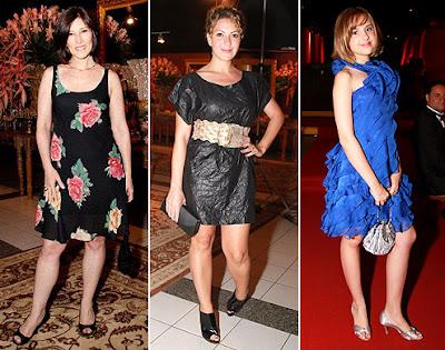 dicas de vestidos de atrizes brasileiras