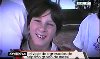 VIDEO DE MESSI EN SU VIAJE DE EGRESADOS (1999)
