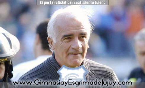 Mario Gómez, DT de Gimnasia de Jujuy