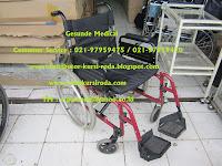 harga kursi roda second