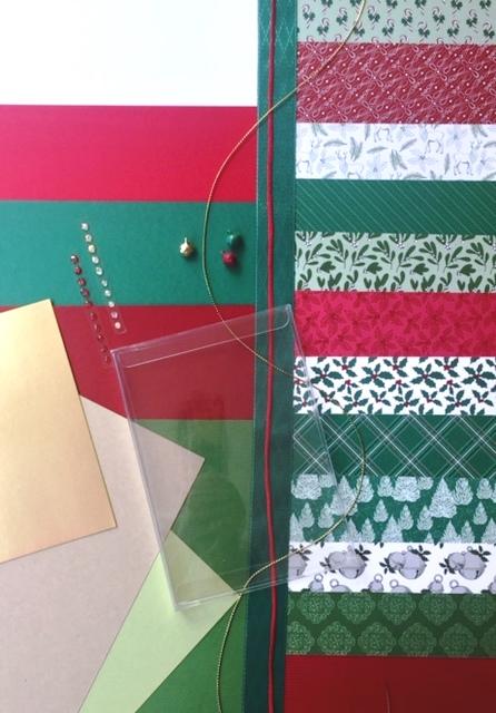 """Materialpaket """"Weihnachtspost"""""""