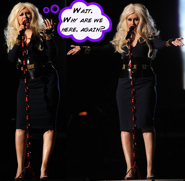 Christina Aguilera Weight Gain