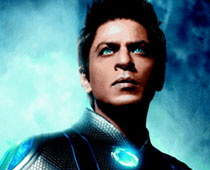Ra.One (released in 2011) - Starring Shahrukh Khan and Kareena Kapoor
