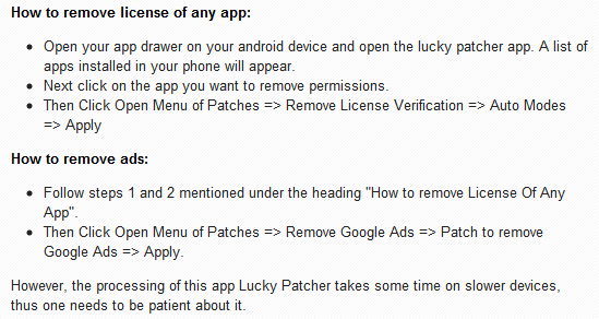 how to use lucky patcher apk