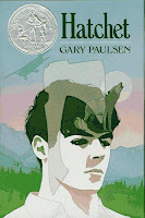 Gary Paulsen The Hatchet 1987 Newbery Award winner Alaska book cover