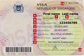 Dịch vụ làm visa Singapore
