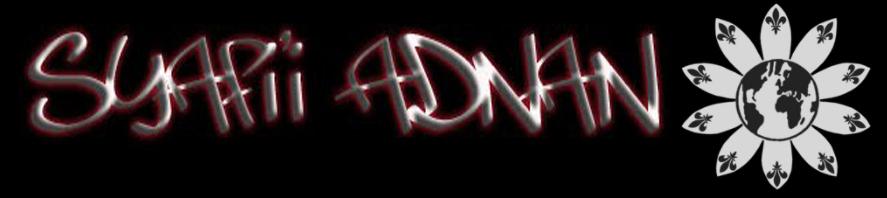 Syafi'i Adnan Blog