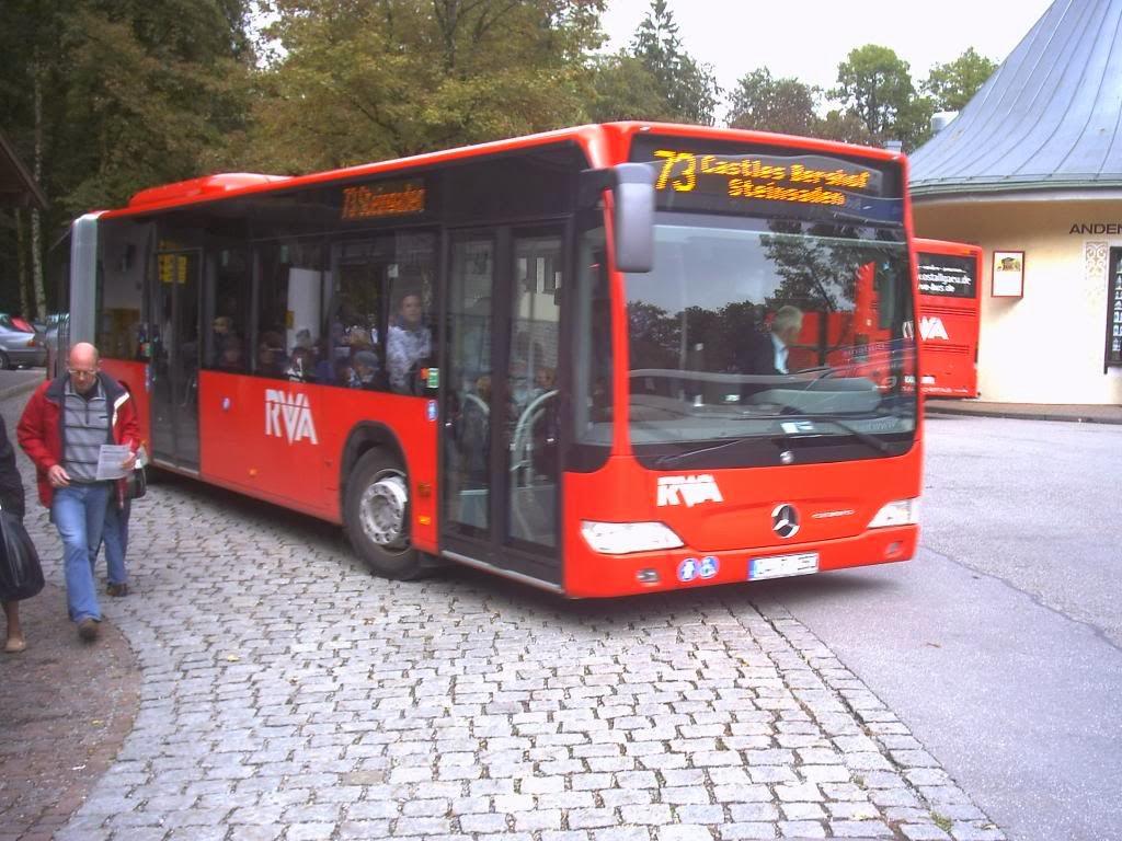 Hohenschnwagau neuschwanstein Bus nummber stop