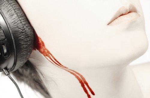 covering ears bleeding