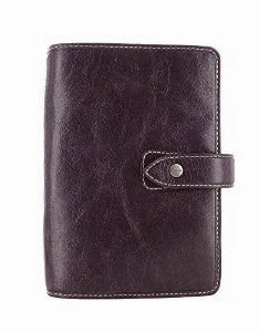 Filofax 2015 Malden Purple Personal Leather Organizer
