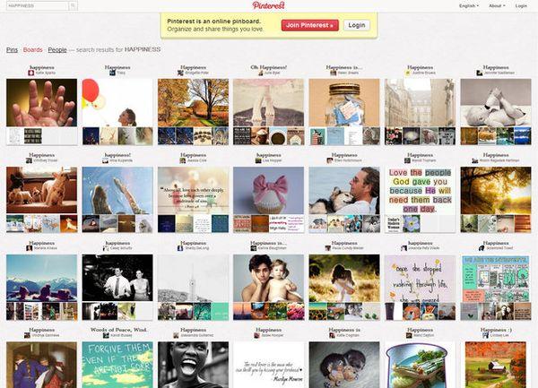8 Website Terkenal yang Bisa Membuat Kamu Bahagia: Pinterest