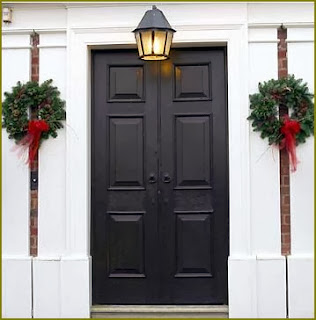 Como Decorar Puertas en Navidad, parte 2