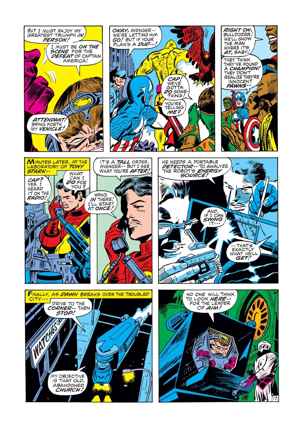 Captain America (1968) Issue #133 #47 - English 17
