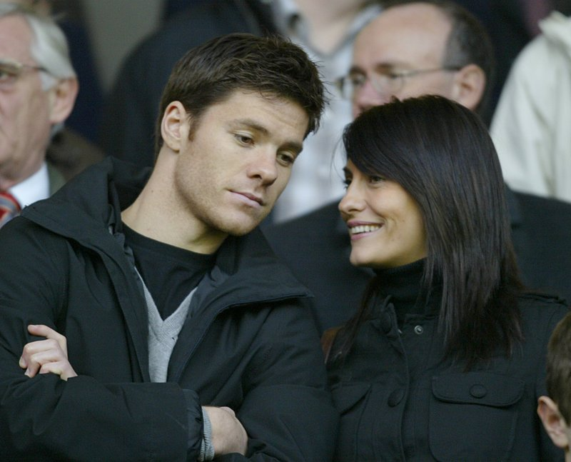 Players: Xabi Alonso With Wife Nagore Aranburu Pictures/Images