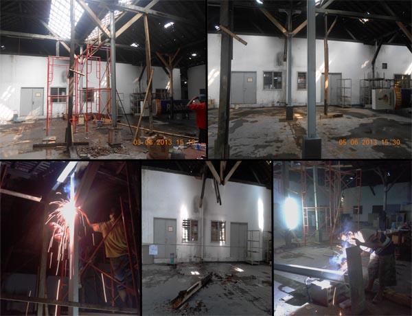 Renovasi Gudang Rabobank