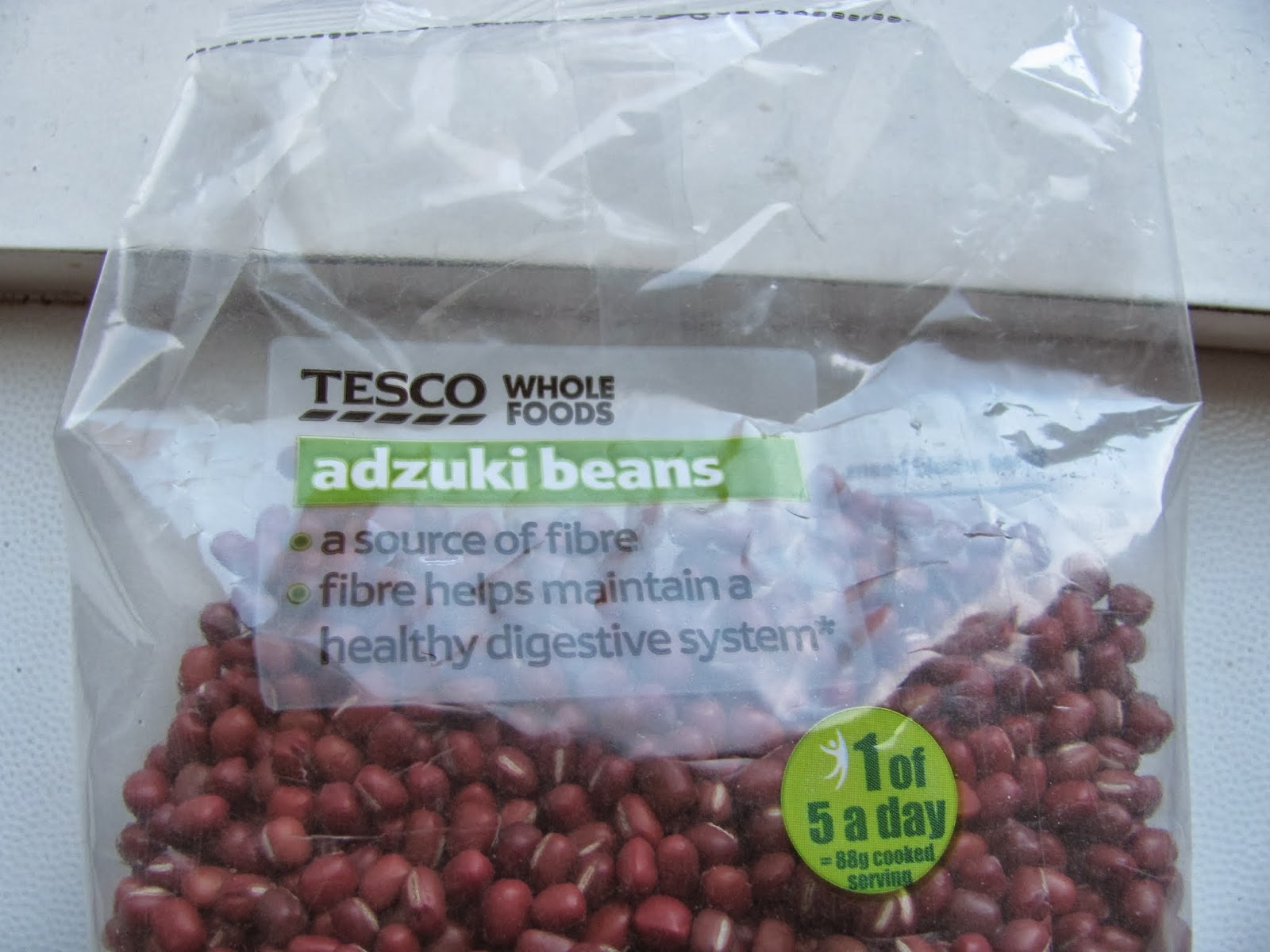 Adzuki Beans in the Bag