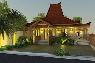 Desain Rumah Jawa Tradisional