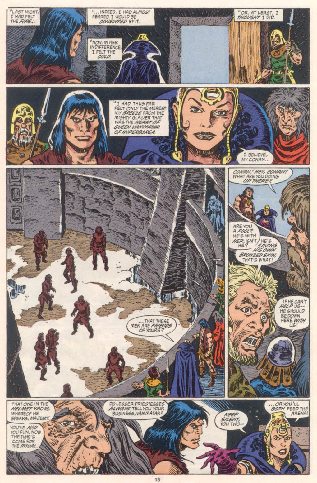 Conan the Barbarian (1970) Issue #254 #266 - English 10