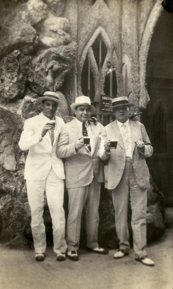 Fotografía de la visita de Al Capone a la Habana en 1930