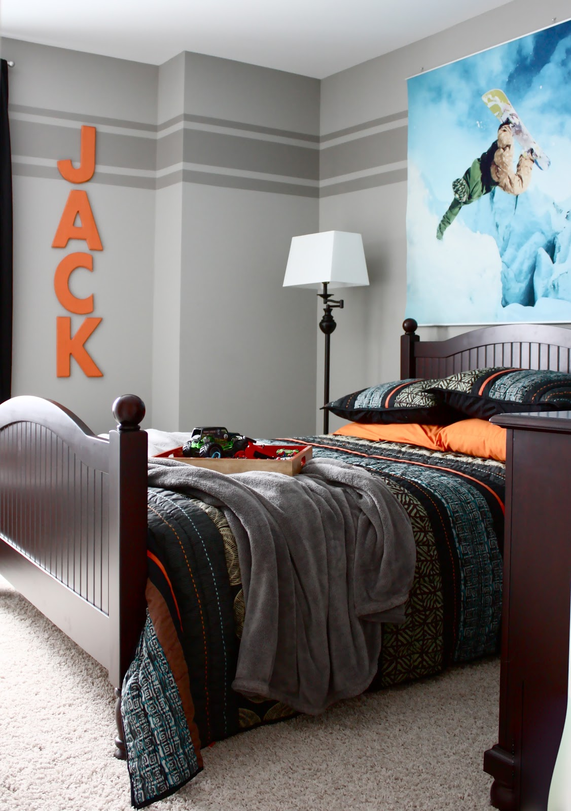 the yellow cape cod jack 39 s room reveal. Black Bedroom Furniture Sets. Home Design Ideas
