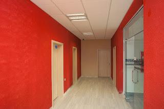 Арт офис коридор