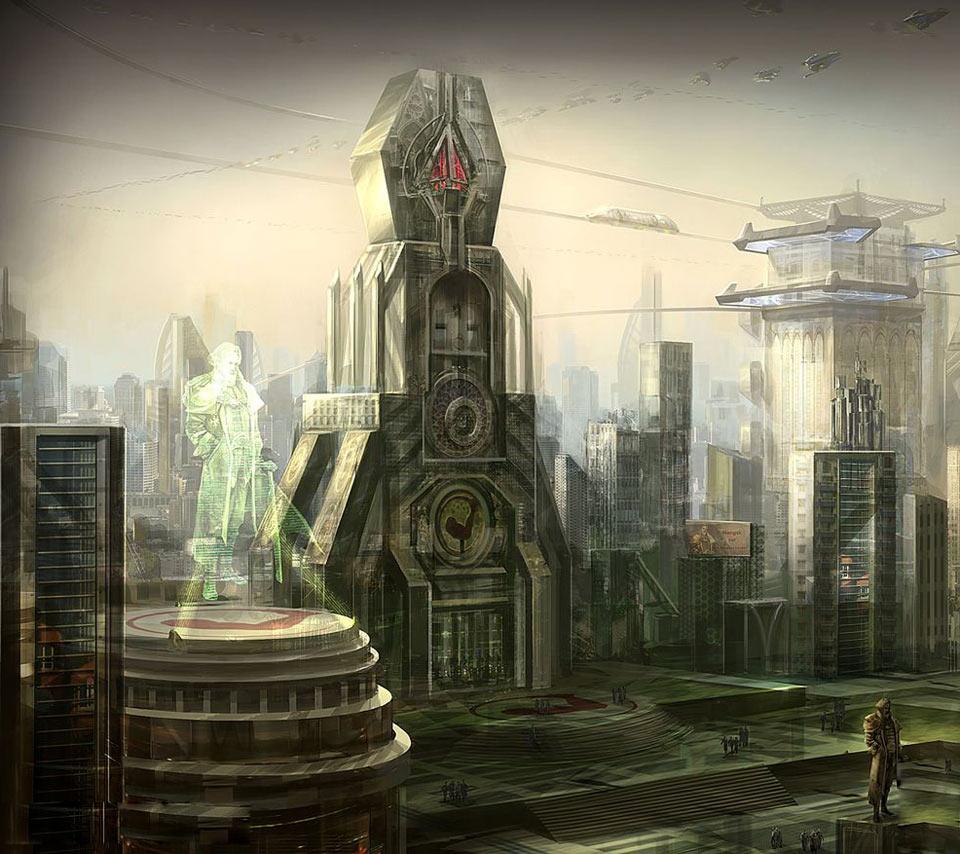 Terran City Starcraft 2 Pics