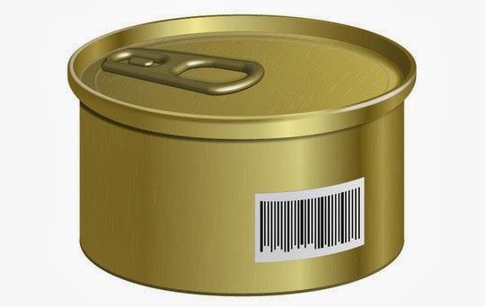 Create a Can with a Barcode