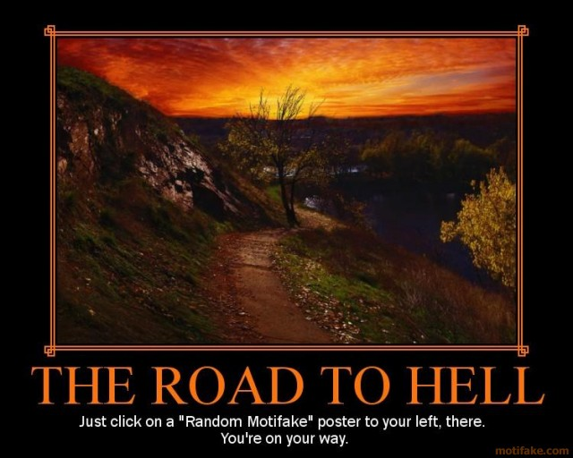 the road to hell The road to hell: why people struggle to achieve their goals, by thomas webb,  phd.